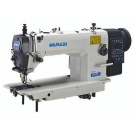 MAQI LS 0303ECX-TD4 промислова швейна машина зі збільшеним човником, крокуючою лапкою та автоматичними функціями